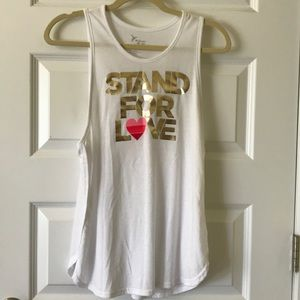 'Stand for Love' Work Out Tank Activewear